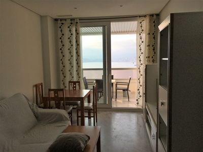 Photo for First line apartments with fabulous views and proper enter to the beach - rocks.