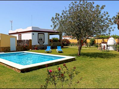 Photo for Rural house with private pool near Conil