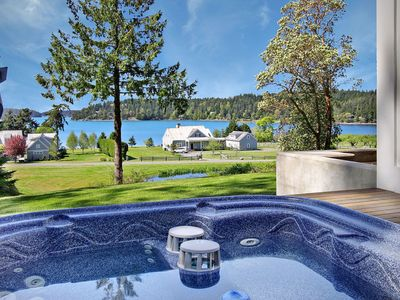 Photo for Cape Cod style home with Hot Tub and  Near Roche Harbor! (Westcott Bay Vista)