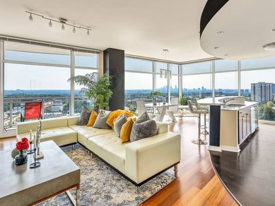 Photo for Exquisite Polished Panoramic Buckhead Penthouse-Designed