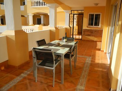 Photo for Duquesa Del Mar air conditioning 2 bedrooms 2 bath Apartment in Golf Del Sur
