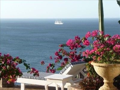 Photo for SPECTACULAR OCEAN VIEW IN BAHIA PEZ VELA FREE WIFI