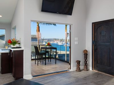 Photo for Private Water View Deck • ❤ of MB • AC • 2 Story Loft