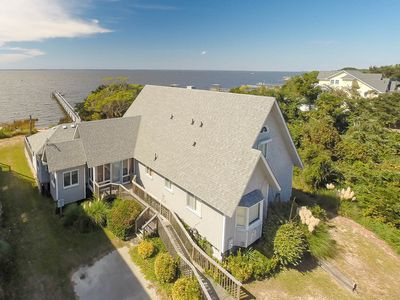 Photo for D3902 Tranquil Sound. Waterfront, Pool/Hot Tub, Private Pier, Awesome Sunsets