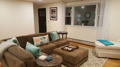 Photo for Newly renovated with patio, a/c included, walking distance from town.