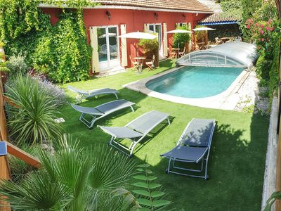 "Photo for ""Come"" at home, 3 gites with swimming pool in the heart of Vacqueyras"