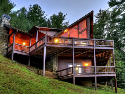 Photo for A great Vacation Cabin Rental for your next North Georgia Mountain retreat!