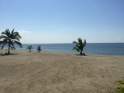 Photo for Beach cabin located in gated community in Omoa, Cortes