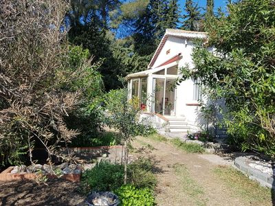 Photo for Cozy villa, air conditioning, pool, garden, WI-FI. Can host up to 12 people.