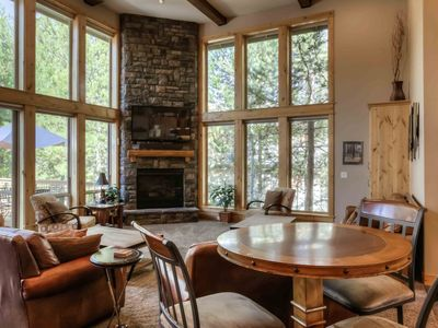 Photo for AUG 2019 RATES! Executive 8 Bdrm Luxury Lodge on Golf Course 7 KING Mstrs&SHARC