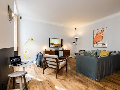 Photo for Rent a stunning and spacious apartment in Biarritz heart of town