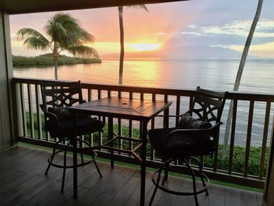 Photo for 'Aloha Kai' Oceanfront on Molokai, Top Floor, Modern, Peaceful Comfort, Pool