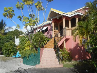 Photo for ACCOMMODATION WITH POOL at SAINTE-ANNE at 20MN to THE BEACH ON FOOT