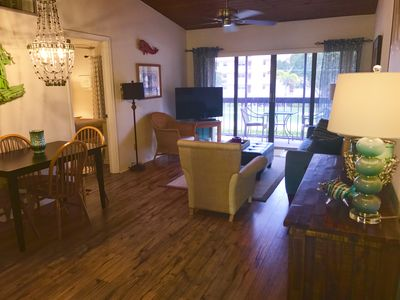 Photo for Available now!  Newly updated 2 bedroom condo across street from Residents Beach
