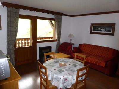 Photo for Les Houches / Chamonix Mont Blanc apartment at the foot of the slopes