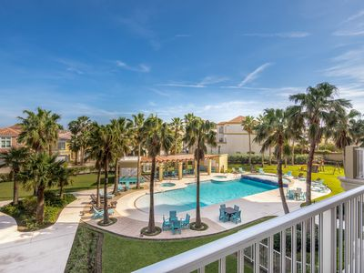 Photo for Luxury condo w/ shared pools, hot tub, & playground - close to beach