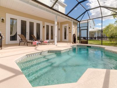 Photo for How to Rent Your Own Private Luxury Holiday Villa with Private Pool on  Reunion Resort and Spa, Orlando Villa 1285