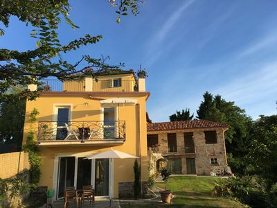 Photo for Casa Caroline : Ground Floor Apartment Among The Wine Fields, 30mins From Genoa