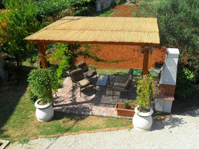 Photo for Cute accommodation in Đuba-Umag, near the sea, quiet area, air-conditioned, WiFi