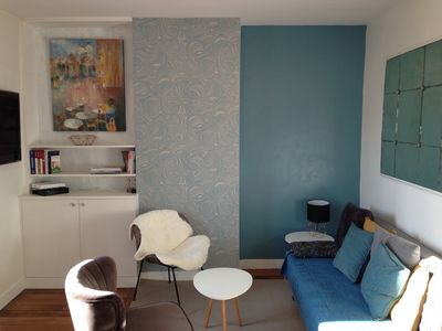 Photo for The heart of Paris Abbesses - Superb 2 bright quiet rooms Ideal location