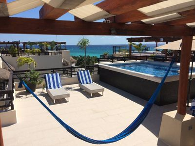 Photo for Aldea Thai - Oceanfront PH, Rooftop & Private Pool