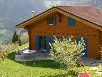 Photo for Chalet Alpina offers great views.
