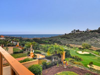 Photo for Great Ocean View and Golf Course View Deck - Luxury Villa Southern California