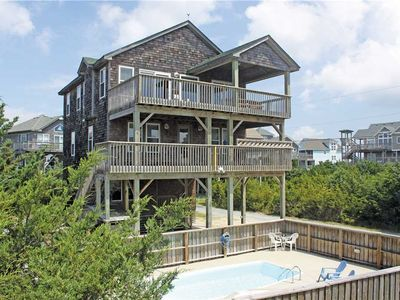 Photo for Oceanside in Hatteras w/Htd Pool&HotTub, RecRoom