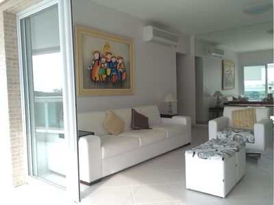 Photo for Beautiful apartment module 8 - 110m2 - 150 meters from the beach - complete leisure