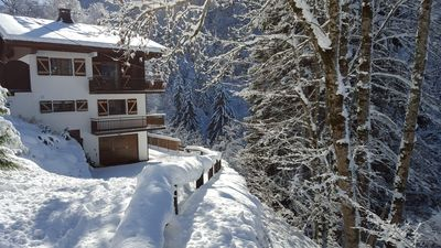 Photo for STYLISH MODERN CHALET  by the Nyon Lift /Hot Tub/Pool Table/ WiFi /Ensuite Rooms