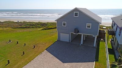 The Cutest Beachfront Cottage in Galveston! Recently Featured on HGTV!!
