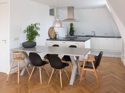 Photo for OFFER Top Floor canal house Gouda