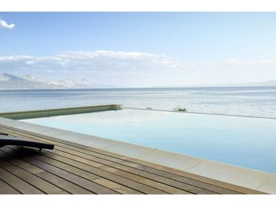 Photo for Amazing seafront setting-Infinity pool