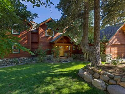Photo for Mountain-style Home, Comfort and Charm Abound, Deck, Hot Tub and Views