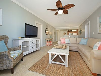 Photo for BEACH FRONT! Waterscape A411 SLEEPS 8 2 King Beds BEACHFRONT 5/25-6/1 REDUCED!!!