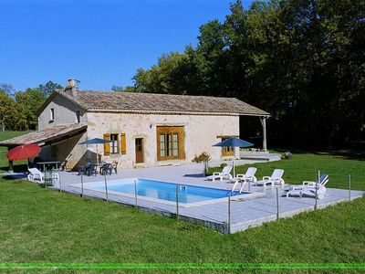 Photo for Scenic Holiday Home in Biron with Private Swimming Pool