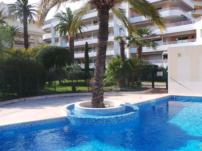 Photo for Apartment Riviera Park in Cannes - 4 persons, 1 bedrooms