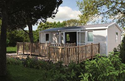 Photo for Camping Les Genets **** - Mobile home PMR 4 Persons 3 Rooms