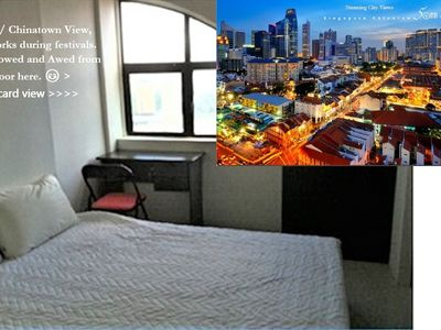 Photo for Chinatown Room +View! +private Shower!