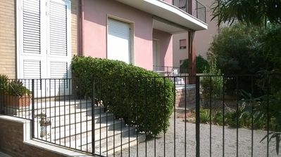 Photo for Apartment with private garden in Livorno