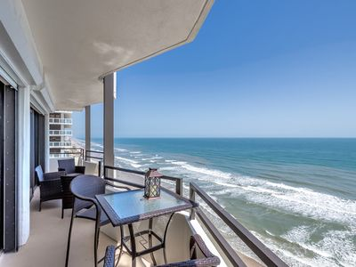 Photo for Luxury Oceanfront Condo ~ Unparalleled Views Of The Atlantic Ocean!