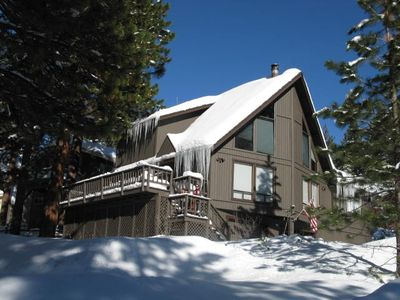 Photo for Best Value in Incline Village! Mountain Home, Peeks of Lake, Open Space