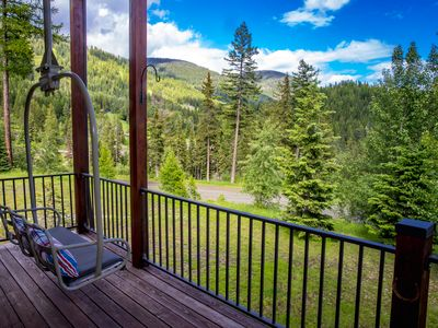 Photo for Enjoy the best view of Big Mtn from this New unit! 4BD 4.5BA w/ Hot Tub!