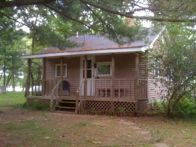 Wisconsin dells waterfront cabin homeaway for Cabin rentals wi