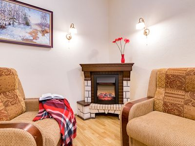Photo for Cozy apartment near Palace square
