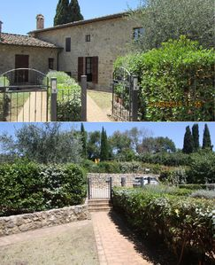 Photo for Tranquility in a rustic farmhouse surrounded by the Tuscan countryside