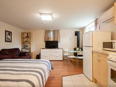 Photo for Executive Furnished Studio Apt with Queen Bed