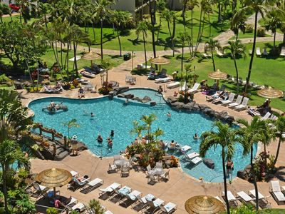 Photo for Kaanapali Shores 546,  Whales are here! Enjoy this Sea Side Location!
