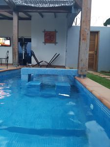 Photo for ENTIRE VILLA WITH SWIMMING POOL JACUZZI 2KM BEACHES OF BASSAM