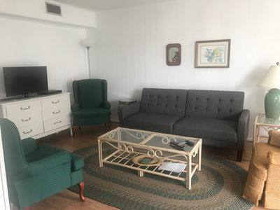 Photo for WOW  at the beach for this price!   Great  complex with pool FREE PARKING